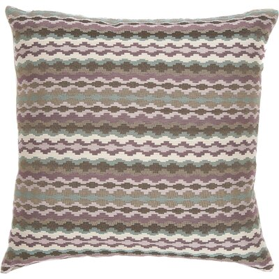 Cadiz Throw Pillow Color: Violet