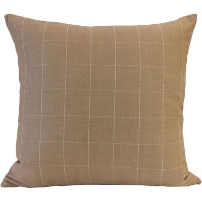 Salem Throw Pillow Color: Caramel
