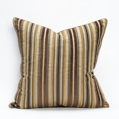 Arlington Cotton Throw Pillow Color: Cremini
