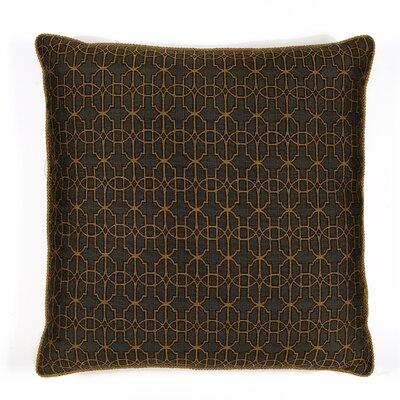 Byzantium Cotton Throw Pillow Color: Anthracite