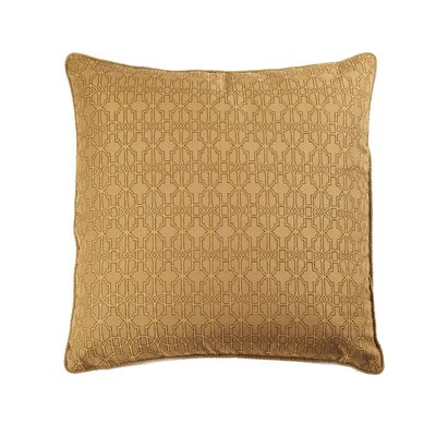 Byzantium Cotton Throw Pillow Color: Gold