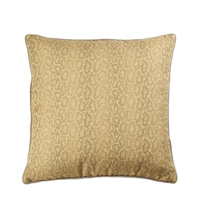 Cardiff Cotton Throw Pillow Color: Camel