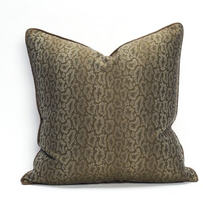 Cardiff Cotton Throw Pillow Color: Stone