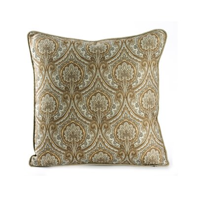 Marrakesh Cotton Throw Pillow Color: Blue Mist