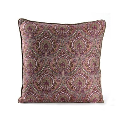 Marrakesh Cotton Throw Pillow Color: Mulberry