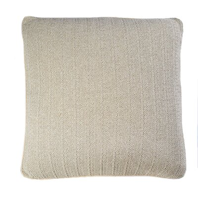 Knits Pebble Cotton Pillow Color: Flax