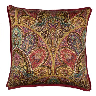 Persia Throw Pillow Color: Tourmaline