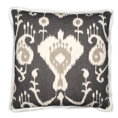 Phuket Throw Pillow Color: Pewter