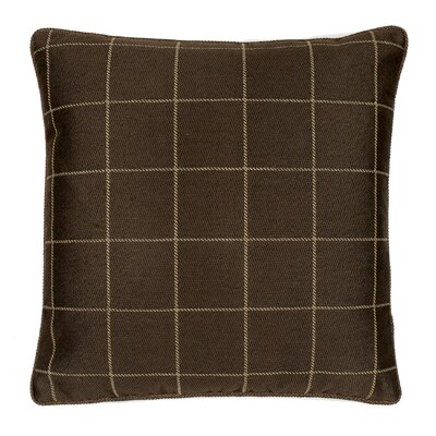 Sutton Throw Pillow Color: Flannel