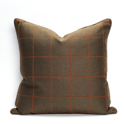 Sutton Throw Pillow Color: Pekoe