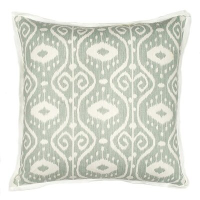 Nassau Throw Pillow Color: Blue Mist