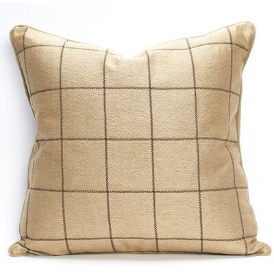 Sutton Throw Pillow Color: Oatmeal