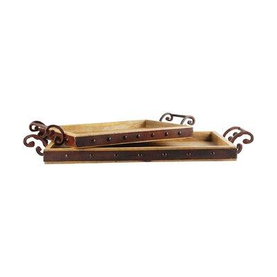 Ilka Retangle 2 Piece Serving Tray LNPK5317 38200713
