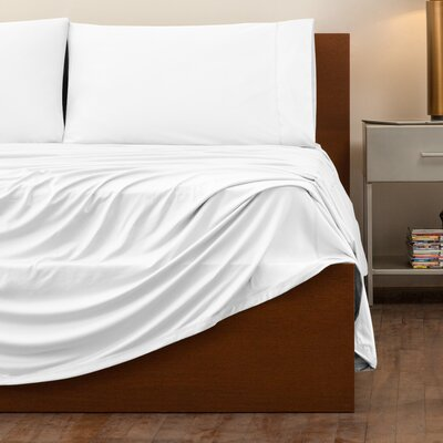 Performance Fabric Sheet Set Size: Twin, Color: White
