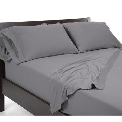 Reversible Sheet Set Size: Queen, Color: Grey