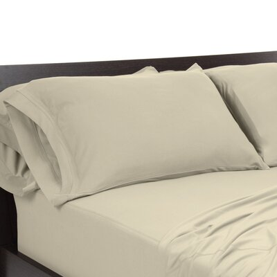 Reversible Pillowcase Size: King, Color: Sand