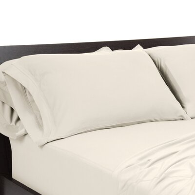 Reversible Pillowcase Size: King, Color: Ivory