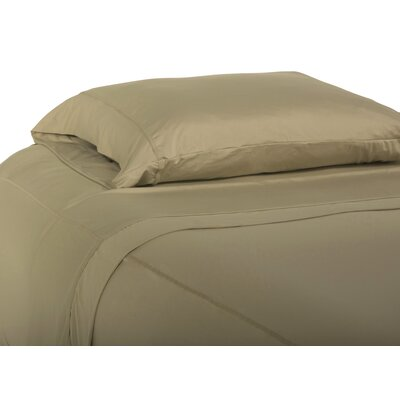 Performance Fabric Sheet Set Size: Queen, Color: Khaki