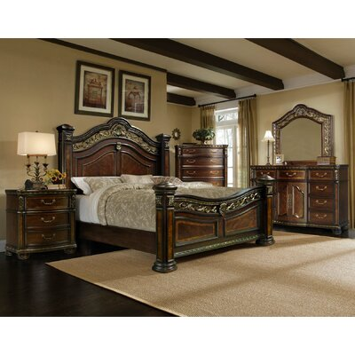 Old World 5 Pc Bedroom Set