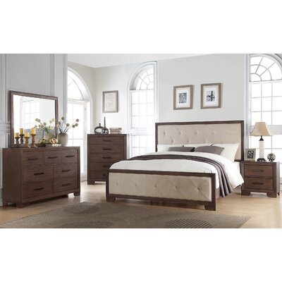 Urban Queen Panel 4 Piece Bedroom Set