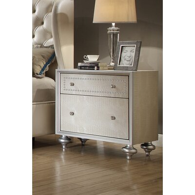 Aveliss 2 Drawer Nightstand
