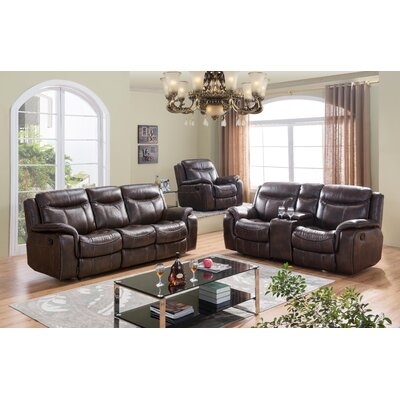 Living Comfort Recliner Sofa and Loveseat SF3739SL