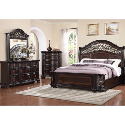 Winkelman Queen Panel 4 Piece Bedroom Set
