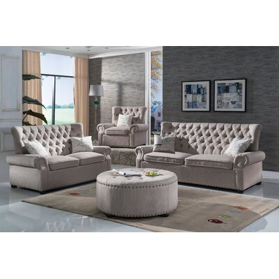 Yately 2 Piece Living Room Set