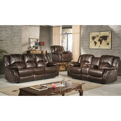 Haskell Reclining Sofa and Loveseat Set