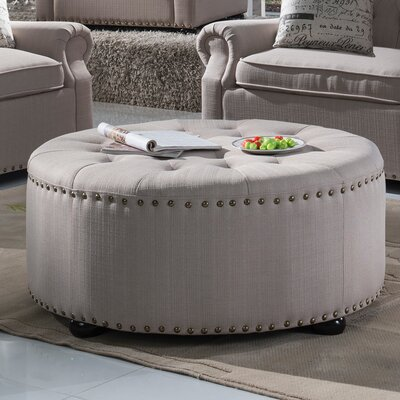 Yately Cocktail Ottoman