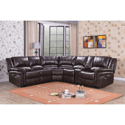Red Barrel Studio RBRS4049 Glenburn Reclining Sectional