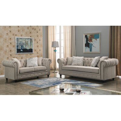 Lunceford 2 Piece Living Room Set