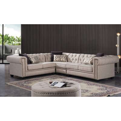 Lunceford Living Reversible Stationary Sectional
