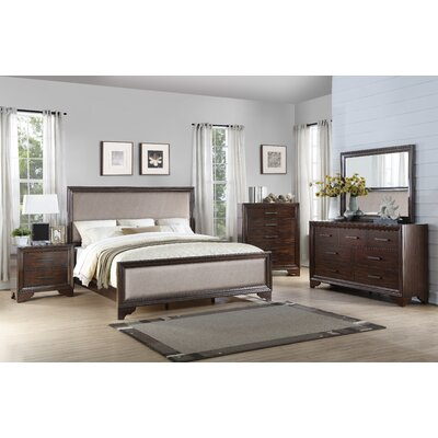 Mardis Queen Panel 4 Piece Bedroom Set