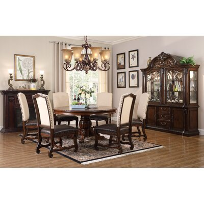 Berwyn 5 Piece Dining Set Color: Brown