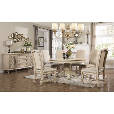 Berwyn 5 Piece Dining Set Color: White