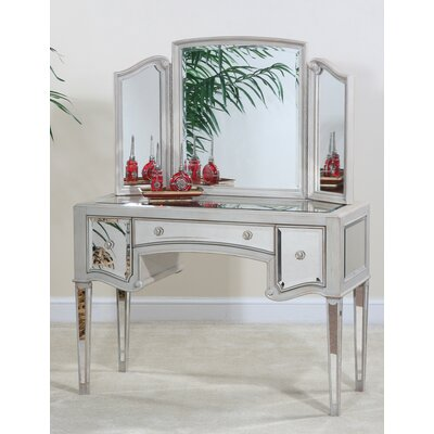 Ultimate Accents Manhattan Dressing Table & Mirror (2 Pieces) at Sears.com