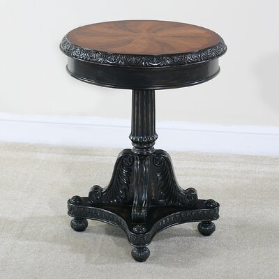 Preswick Marquetry End Table