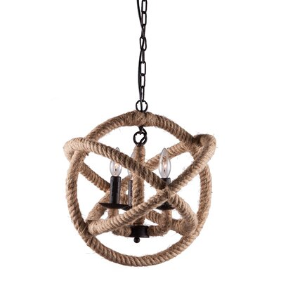 Caledonite 3 Light Pendant