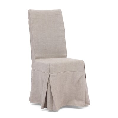 Bad credit financing Dog Patch Linen Slipcovered Chair C...
