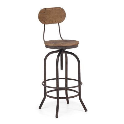 Easy financing Twin Peaks Bar Chair Seat Height: B...