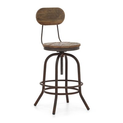 Lease to own Twin Peaks Bar Chair Seat Height: C...