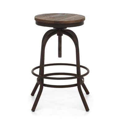 Lease to own Twin Peaks Bar Stool Seat Height: C...