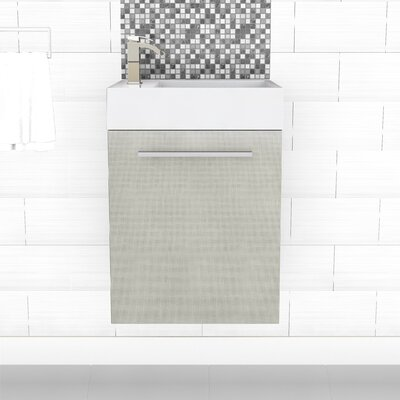 Boutique 18 Space Saver Vanity Base Finish: Linen