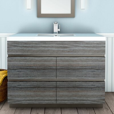 Boardwalk 48 Single Bathroom Vanity Set Finish: SouthWester
