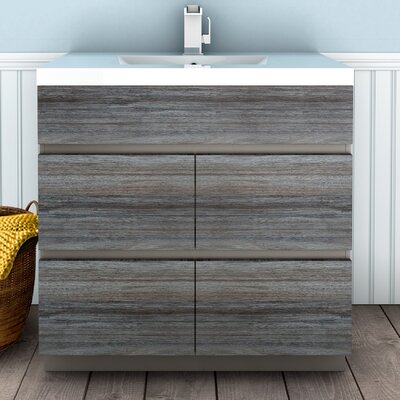 Boardwalk 36 Single Bathroom Vanity Set Finish: SouthWester
