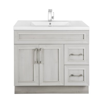 Classic 36 Single Vanity Set Base Finish: Meadows Cove