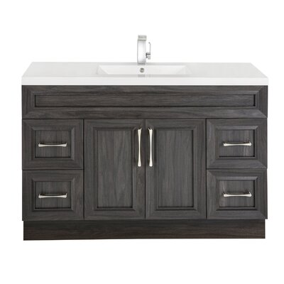 Classic 48 Single Vanity Set Base Finish: Karoo Ash