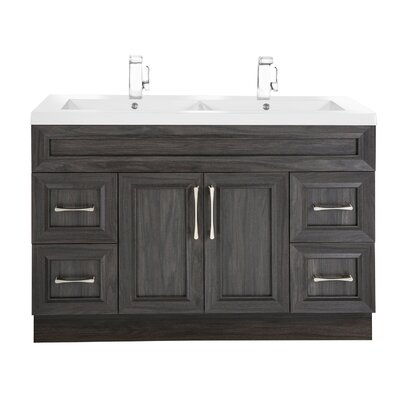 Classic 48 Double Vanity Set Base Finish: Karoo Ash