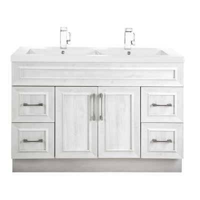 Classic 48 Double Vanity Set Base Finish: Meadows Cove